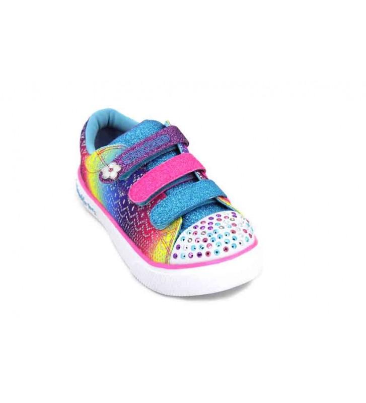 Skechers Sunshine Crochets 10927L Girl's Sneakers