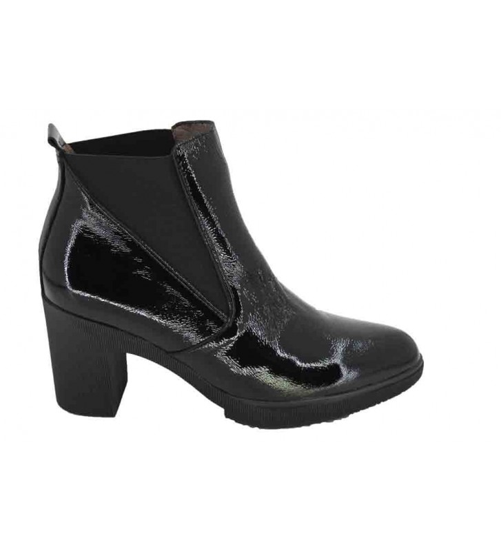 Wonders M-3706 Women's Elastic Ankle Boots