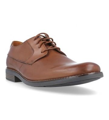 Clarks Becken Plain Zapatos con Cordones de Hombre
