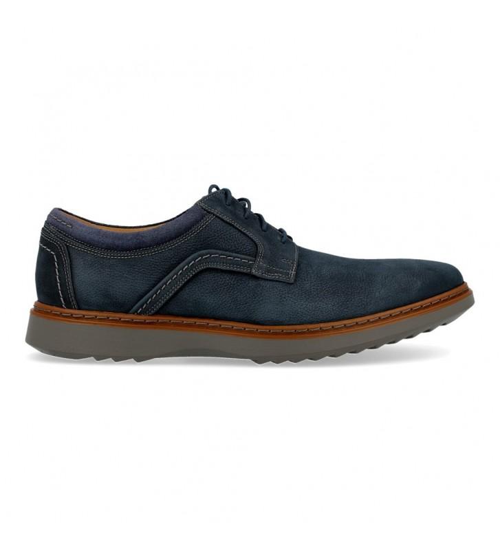 Clarks Un Geo Lace Zapatos con Cordones de Hombre