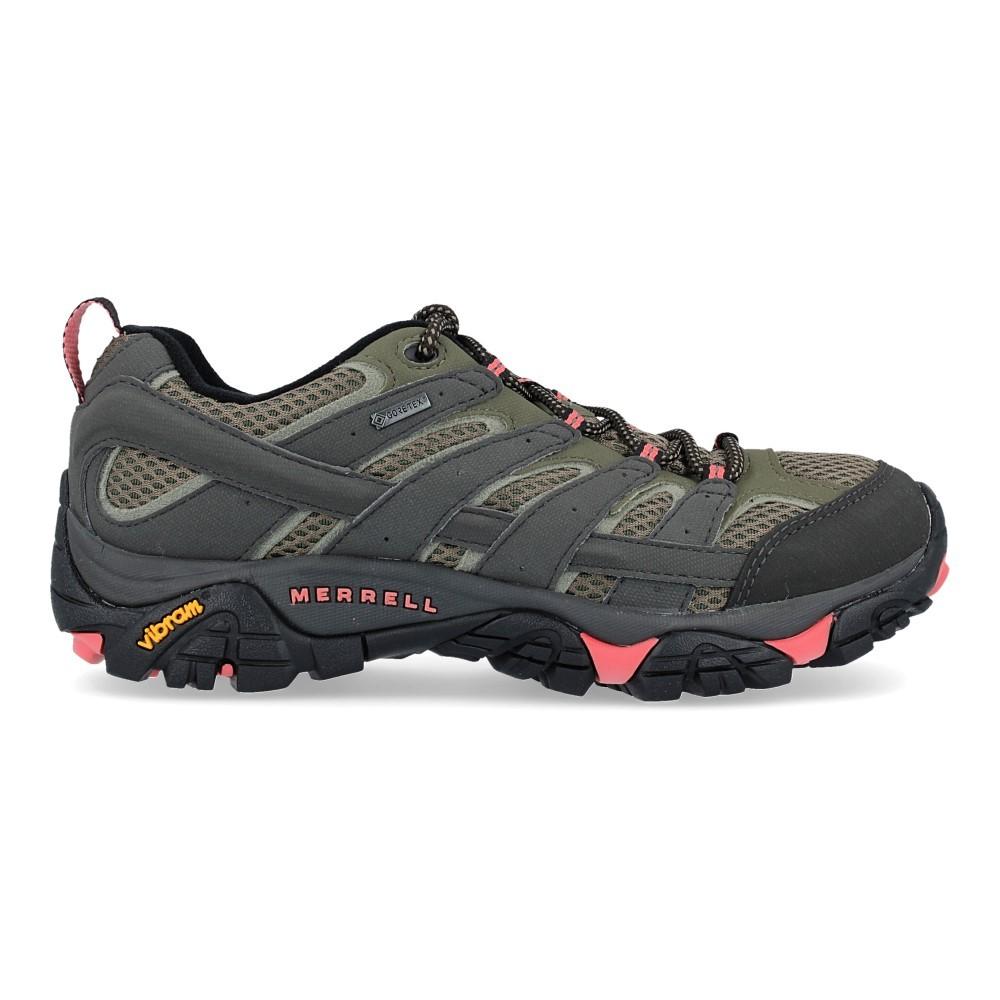 J41106 Moab Calzado De Zapatillas Trekking Vesga Mujer Gtx 2 Merrell 8nX0OwkNP