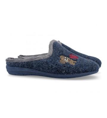 Laro Foot Print Gema78 Zapatillas de Casa para Mujer