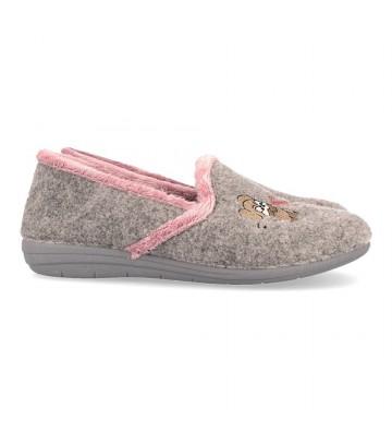 Laro Foot Print Gema60 Zapatillas de Casa para Mujer
