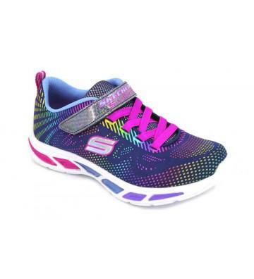 Skechers S.Lights Litebeams 10959L Girls Sneakers