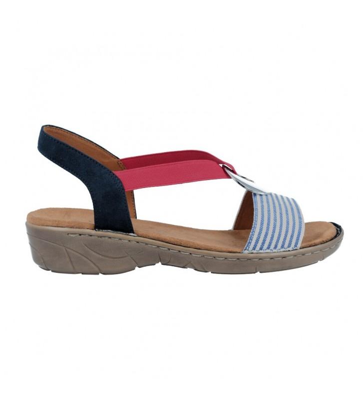 Ara Shoes 22-57264 Korsika-III Sandalias Casual de Mujer