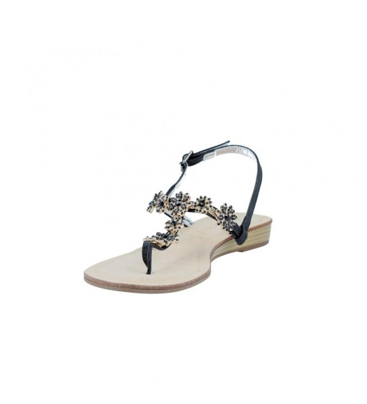 Azarey 233A820 Sandalias Planas de Vestir de Mujer