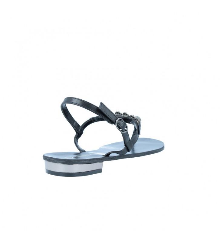 Azarey 345C218 Sandalias Planas de Vestir de Mujer