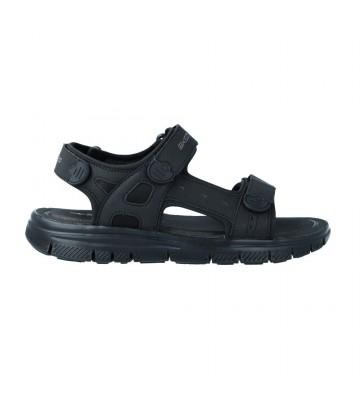Calzados Vesga Sandalias Deportivas Hombre de Skechers Flex Advantage 51874/BBK color negro Foto 1