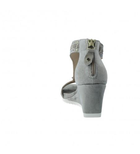 Alpe 427011 Sandalias Casual con Cuña de Mujer