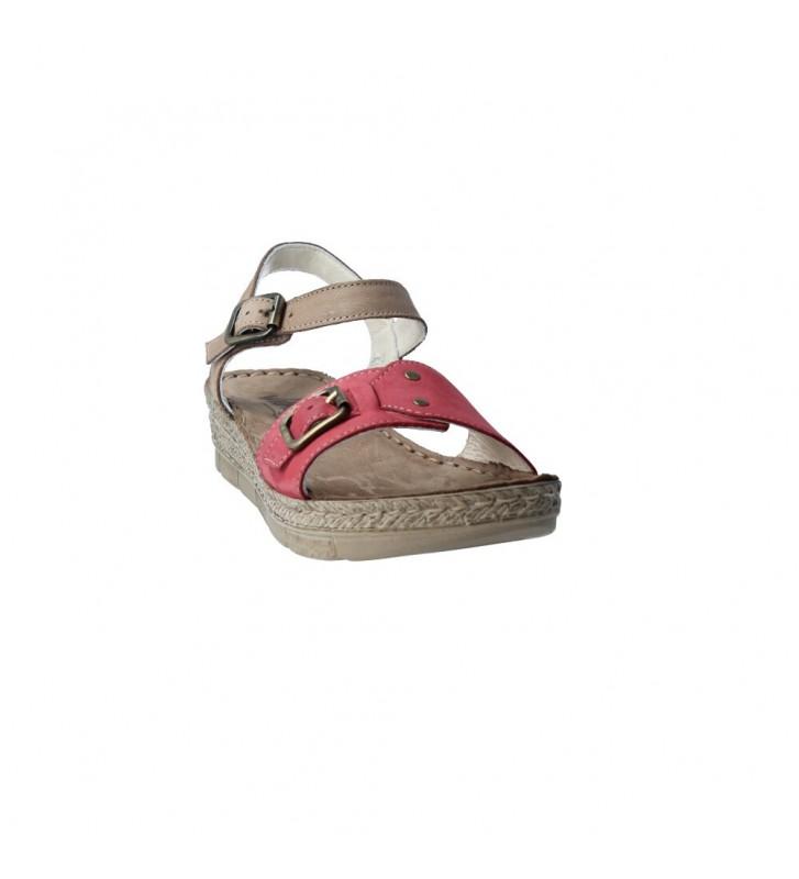Walk&Fly 7906 Sandalias Casual con Cuña de Mujer