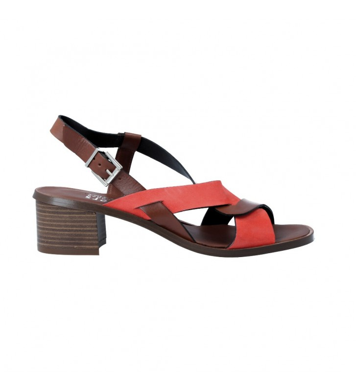 Plumers 3020 Sandalias Casual con Tacón de Mujer