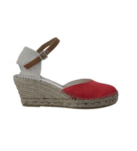 Fabiolas 304700 Esparto Wedge Sandals for Women