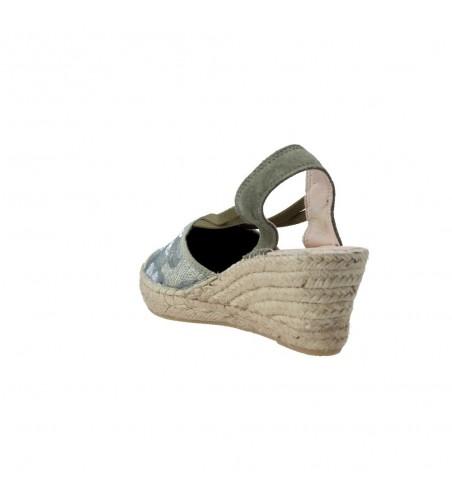 Fabiolas 307180 Sandalias de Esparto con Cuña de Mujer