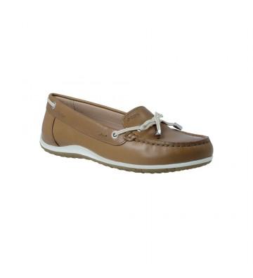 Geox Vega D92DNB Zapatos Mocasines Casual de Mujer