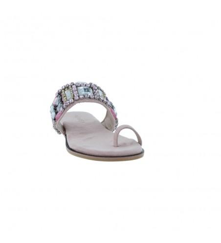 Azarey 418A965 Sandalias Planas de Vestir de Mujer