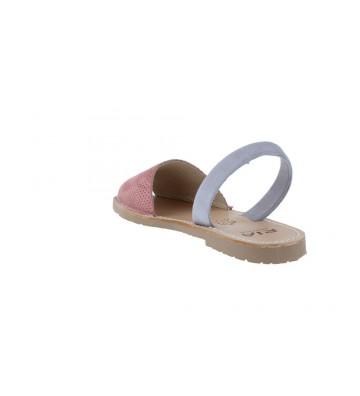 Ria Rueda 27158-S-S2 Sandalias Avarcas de Menorca de Mujer