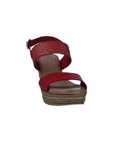 Calzados Vesga 5047 Sandalias con Cuña de Mujer