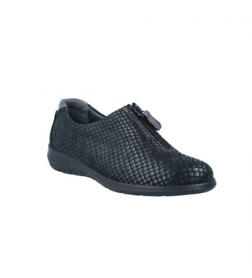 Suave 3530 Zapatos Casual con Cremallera de Mujer