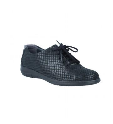 Suave 3503 Zapatos Casual con Cordones de Mujer