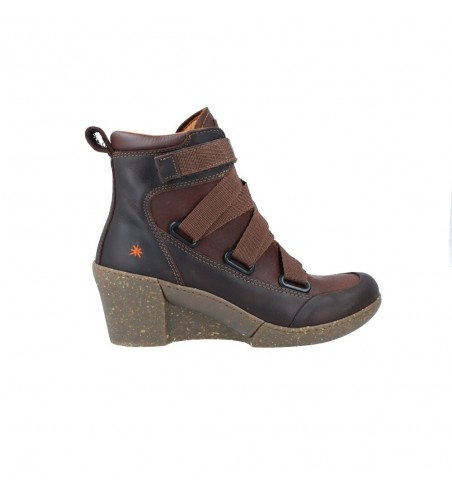 Art 1566 Women's Casual Wedge Ankle Boots
