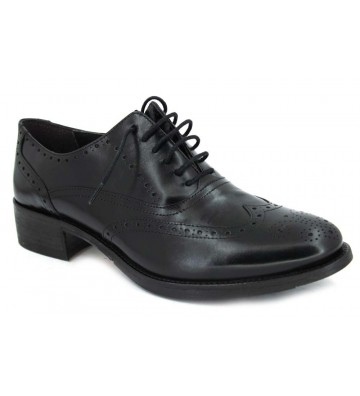 Luis Gonzalo 4038B Zapatos Cordones Oxford de Mujer