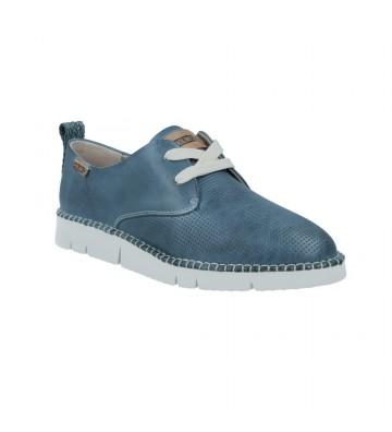 Zapatos Casual con Cordones de Mujer Pikolinos Vera W4L-6780