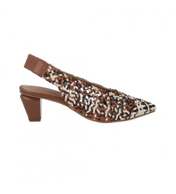Zapatos Trenzados con Tacón para Mujer de Pedro Miralles 14625