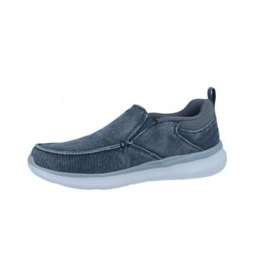 Zapatos Mocasines para Hombres de Skechers 210025 Delson