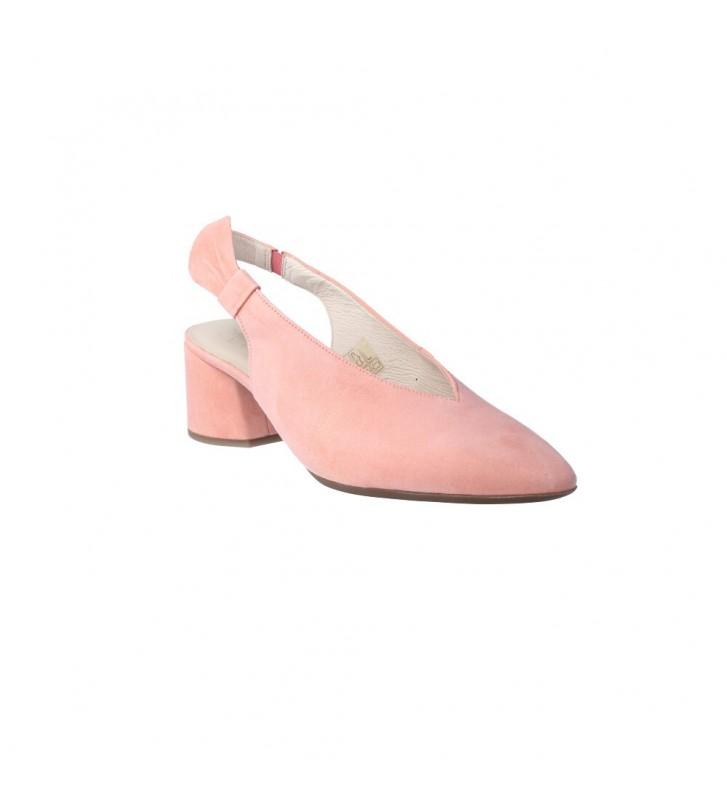 Zapatos de Salón con Tira Talón para Mujer de Wonders I-8005