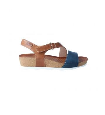 Sandalias con Cuña para Mujer de Pikolinos Mahon W9E-0833C1