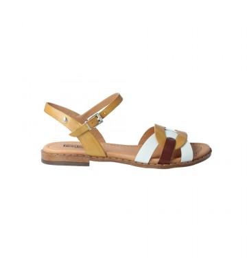 Sandalias Planas para Mujer de Pikolinos Algar W0X-0868C2