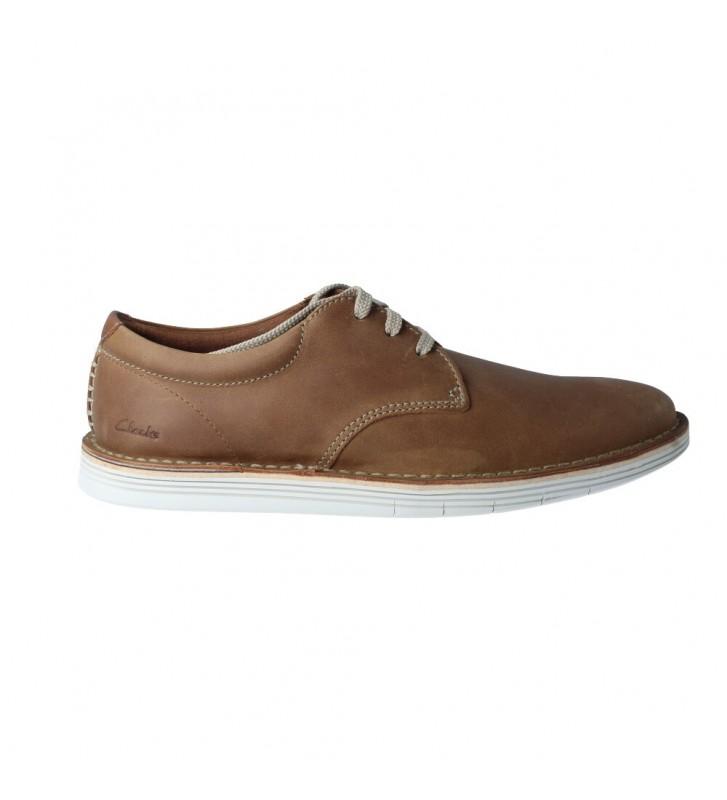 Zapatos Casual con Cordones para Hombre de Clarks Forge Vibe