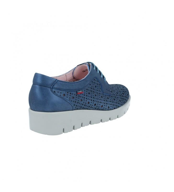 Zapatos Casual con Cordones para Mujer 89864 Haman