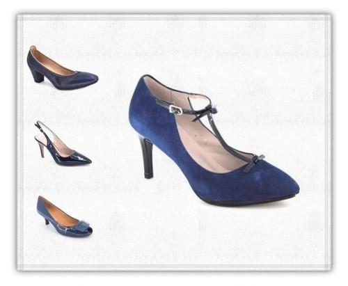 d71dc1c4b5 El color azul en los zapatos suele ser un color algo conflictivo