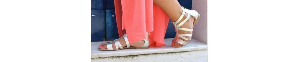 Sandalias Romanas de Mujer