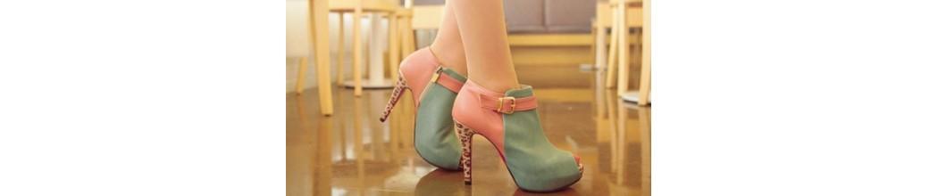 Zapatos con Tacón de Mujer