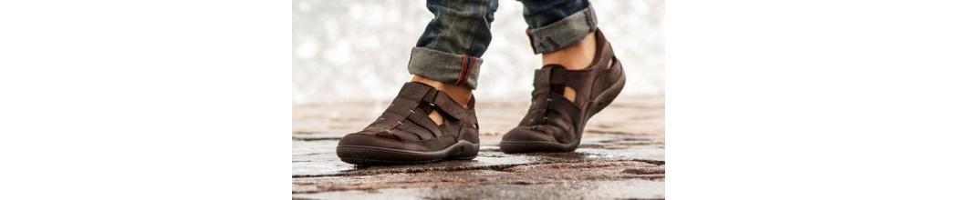 Zapatos abiertos de hombre