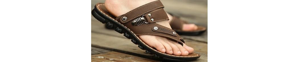 Sandalias dedo Hombre