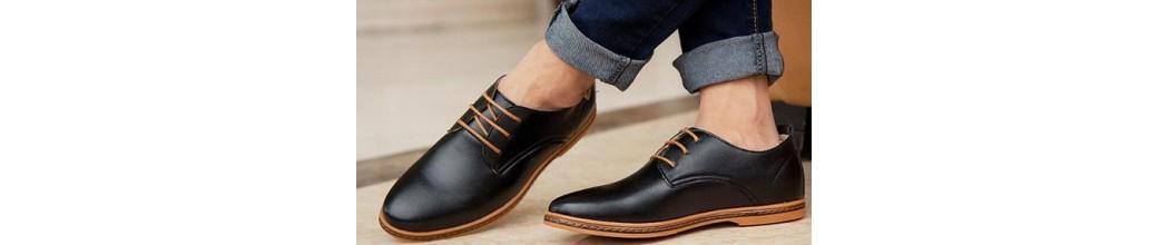 Zapatos casual con cordones