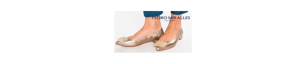 Pedro Miralles classic ballerinas for women