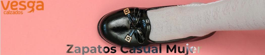 Zapatos casual mujer