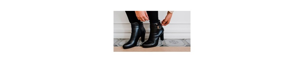 Ankle Boots with Heel